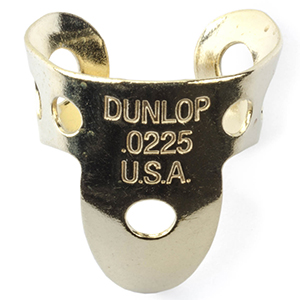 Dunlop 37R Brass Fingerpick - .0225mm