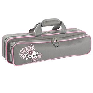 Kaces Grafix Polyfoam Flute Case - Daisy Dead Petals