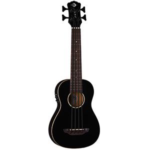 Luna Guitars Uke Bari-Bass Classic Black