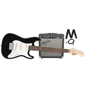 Squier Strat SS Pack Short Scale - Black