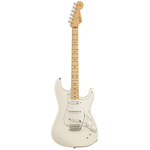 Fender EOB Sustainer Stratocaster - Olympic White