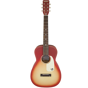 Gretsch G9500 Jim Dandy Flat Top - Chieftain Red Burst