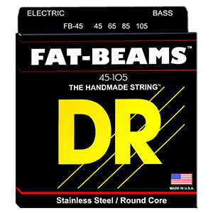 DR Fat Beams 45 4-String Set