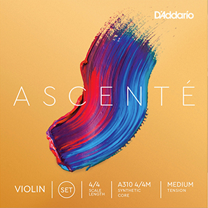 Daddario Ascente Violin String Set 4/4 - Medium