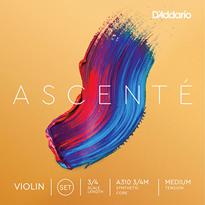 Daddario Ascente Violin String Set 3/4 - Medium