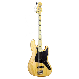 Fender Limited Edition 70s Ash Jazz Bass - Natural