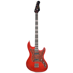 Hofner Galaxie Bass - Candy Apple Red