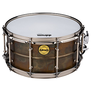 Ddrums Modern Tone 7x14 Patina