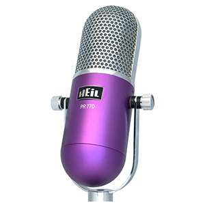 Heil Sound PR 77DP Purple
