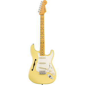 Eric Johnson Stratocaster Thinline - Vintage White