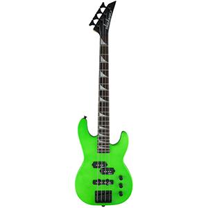 Jackson JS1X Concert Bass Minion - Neon Green