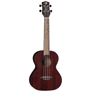 Luna Guitars Uke Vintage Mahogany Tenor - Red Satin