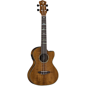 Luna Guitars Uke High Tide Tenor A/E - Koa