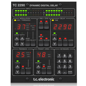 TC Electronic TC2290-DT Delay Plug-In Daw Controller