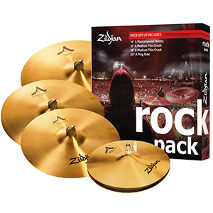 Zildjian A0801R Rock Music Pack