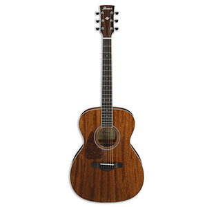 Ibanez AC340L Open Pore Natural Mahogany - Left handed