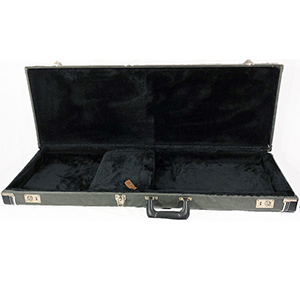 TKL 8830 - Deluxe Electric Square Guitar Hardshell Case - Gray Marble
