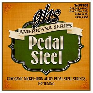PF600  Americana Series Pedal Steel E9 Tuning