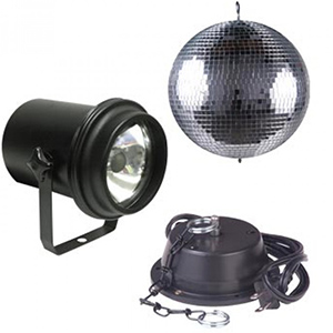 American DJ M-500L Mirror Ball Package