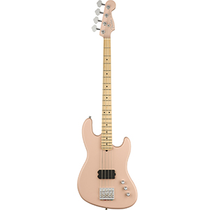 Fender USA Flea Jazz Bass Active - Satin Shell Pink