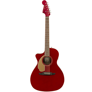 Fender Newporter Player LH Candy Apple Red