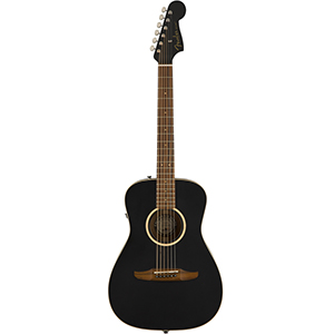 Fender Malibu Special - Matte Black