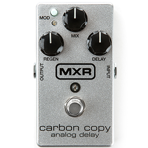 MXR Carbon Copy Analog Delay 10th Anniversary - Silver