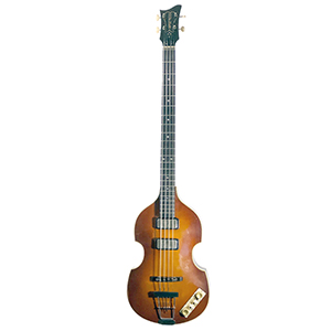 Hofner H500/1-61  Relic Violin Bass Cavern Spacing - Sunburst