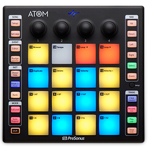Presonus ATOM with Studio One Artist Software