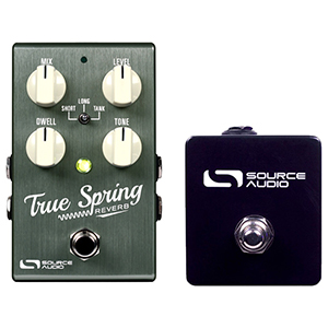 Source Audio One Series True Spring Reverb with Tap Tempo Switch