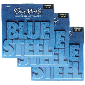 Dean Markley 2556 Blue Steel Regular - 3 Pack