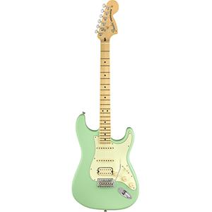 Fender American Performer Stratocaster HSS - Satin Surf Green