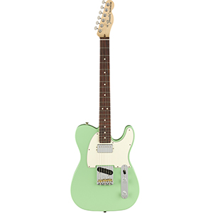 Fender American Performer Telecaster w/ Humbucking - Satin Surf Green