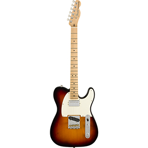 Fender American Performer Telecaster w/ Humbucking - 3-Color Sunburst