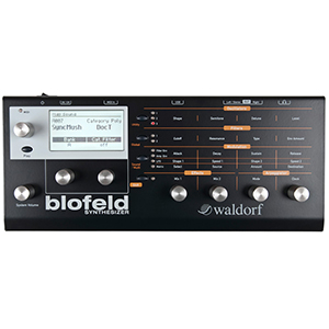 Waldorf Blofeld Synthesizer Module - Black Edition