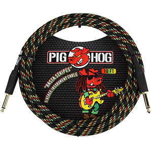 Pig hog PCH10RA Rasta Stripes