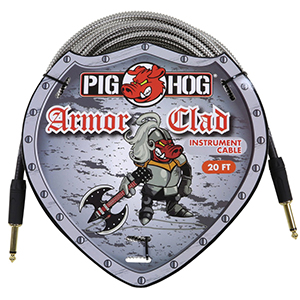 Pig hog Armor Clad Instrument Cable - 20 ft