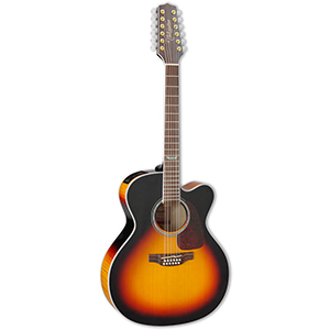 Takamine GJ72CE-12 Brown Sunburst