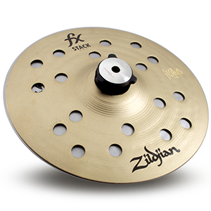 Zildjian 8 inch FX Stack Pair w/ Mount