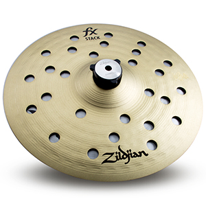 Zildjian 10 inch FX Stack Pair w/ Mount