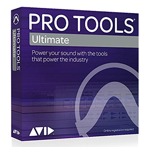 Avid Pro Tools Ultimate - Annual Subscription – Boxed Edition