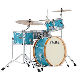 Tama Superstar Classic Maple Neo-Mod 3-Piece Shell Kit - Turquoise Satin Haze