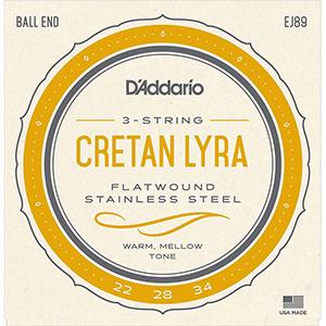 Daddario EJ89 Cretan Lyra