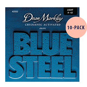 Dean Markley 2552 Blue Steel Light 10-Pack