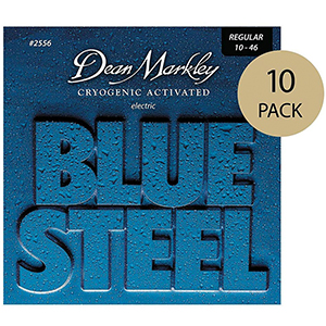 Dean Markley 2556 Blue Steel Regular - 10 Pack