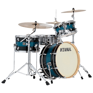 Tama Superstar Classic Maple Neo-Mod 3-Piece Shell Kit - Mod Blue Duco