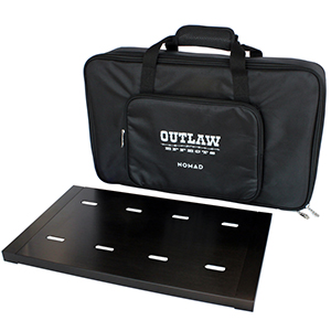 Outlaw Effects NOMAD-M128 Powered Pedal Board - Medium