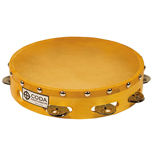 CODA DP-150-10 Single Jingle Tambourine