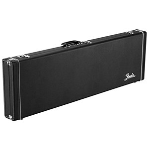 Fender Classic Series Wood Case - Mustang / Duosonic - Black