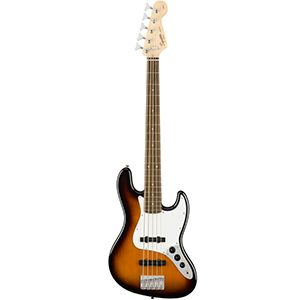 Squier Affinity Series Jazz Bass V 5-String Brown Sunburst